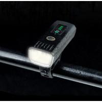Мощная велосипедная фара с датчиком освещения и зарядкой от USB
